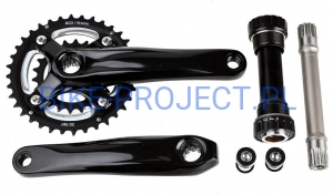 Fat Bike korby 22/36 suport ISIS 159mm